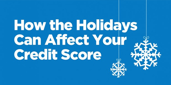 Credit Score Affected by the Holidays
